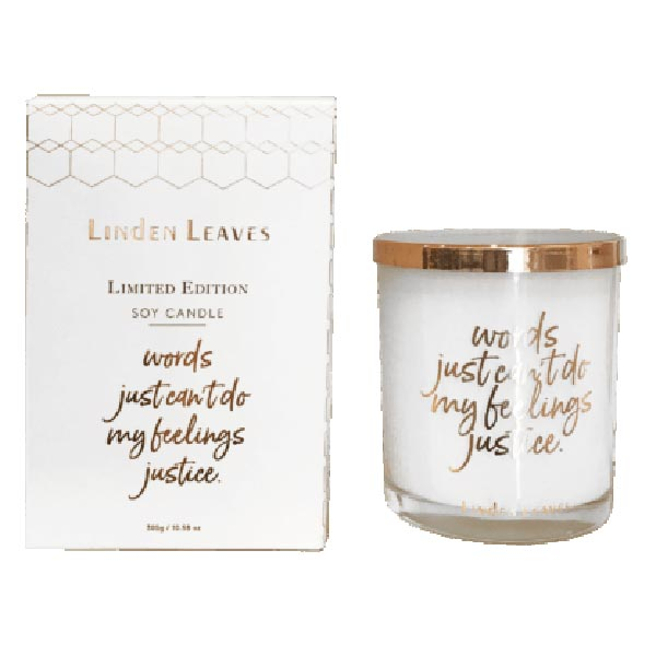 Linden Leaves Limited Edition Candle - Smashed Melon