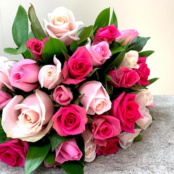 Pretty In Pink All Rose Bouquet