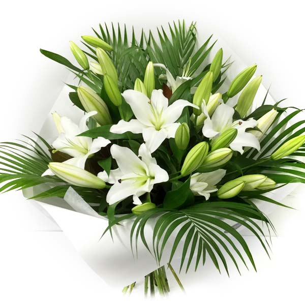 Lily Bouquet - White