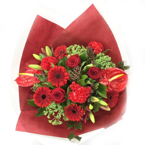 Romantic Reds Bouquet