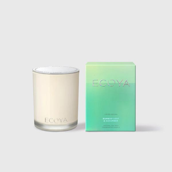 Ecoya Madison Candle - Bamboo Leaf + Cucumber
