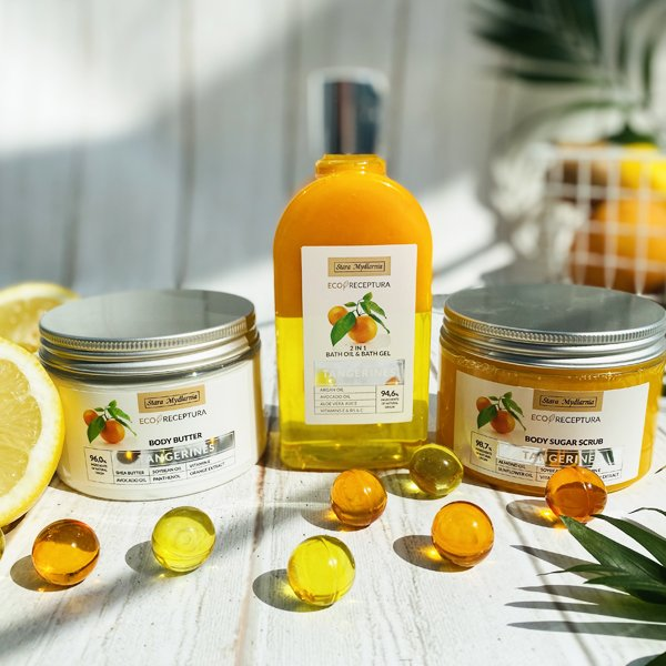 Tangerines body sugar scrub