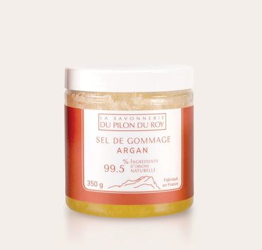 Organic Argan Oil Salt Scrub 350g