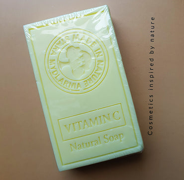Natural Soap with Vitamin C 95g - SCENTA