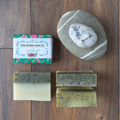 Irish Seaweed Natural Soap 100g