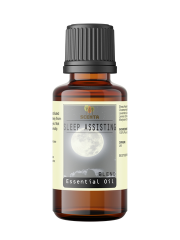 sleep assisting essential oil