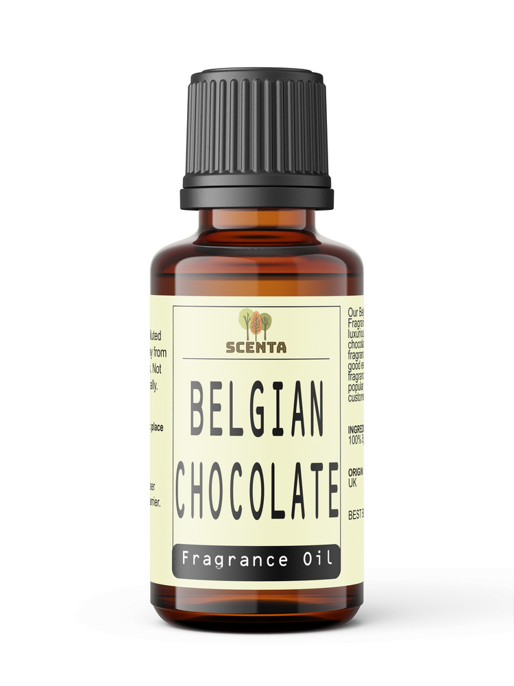 Belgian Chocolate Fragrance Oil - SCENTA