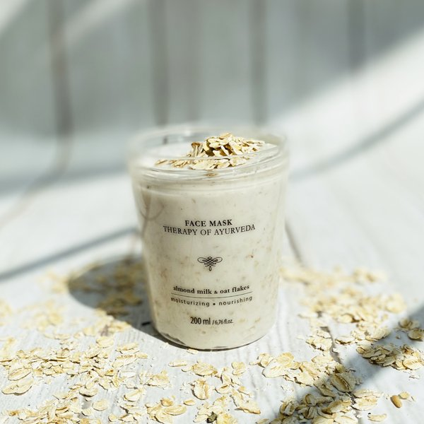 Almond Milk & Oat Flakes face mask 200 ml / 6,76 fl.oz.