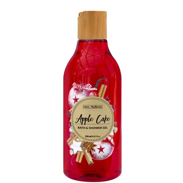Apple Cake bath & shower gel 250 ml / 8,45 fl.oz. - SCENTA