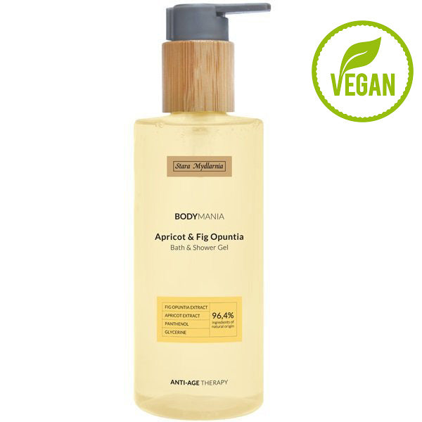 Apricot Oil & Fig Opuntia bath & shower gel 250 ml / 8,45 fl.oz.