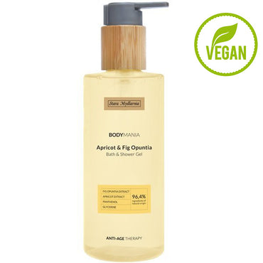 Apricot Oil & Fig Opuntia bath & shower gel 250 ml / 8,45 fl.oz. - SCENTA