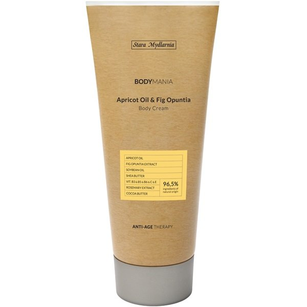 Apricot Oil & Fig Opuntia body cream