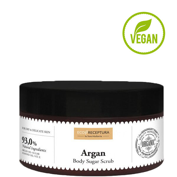 vegan argan body scrub