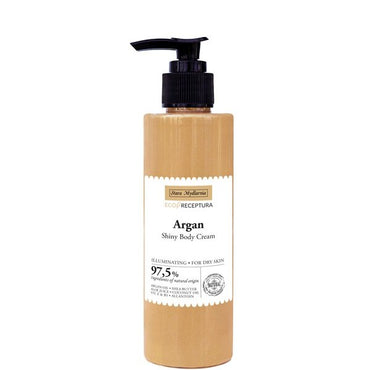 Argan shiny body cream