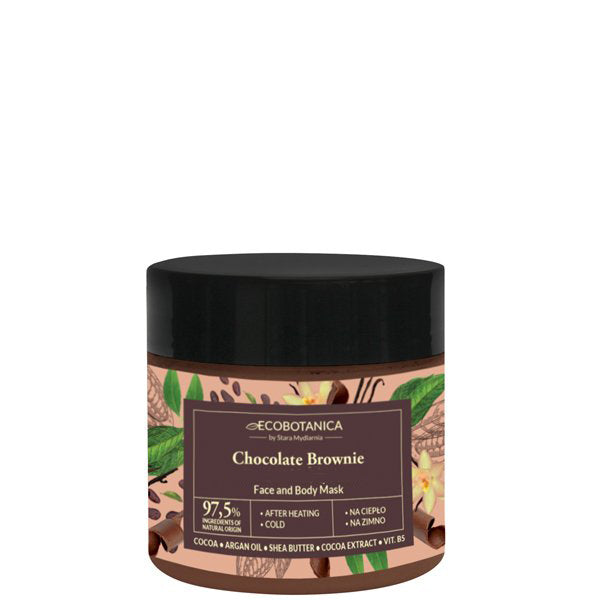 Chocolate Brownie face and body mask 200 ml / 6,76 fl.oz.