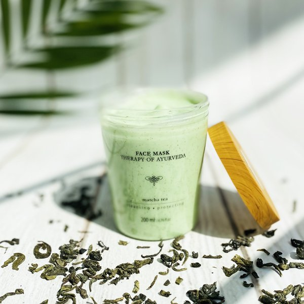 Matcha Tea face mask 200 ml / 6,76 fl.oz. - SCENTA