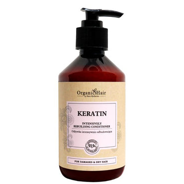 Organic Hair Keratin rebuilding conditioner 300 ml / 10,14 fl.oz. - SCENTA