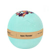 spa flower bath bomb