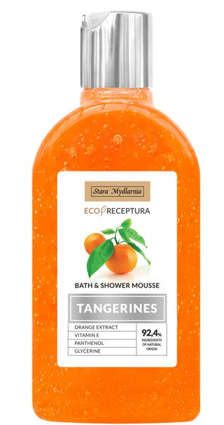 Tangerines bath & shower mousse