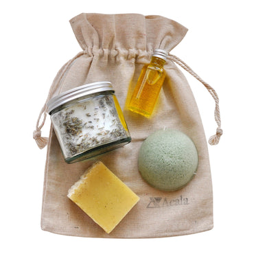 Zero Waste Spa Day Pamper Bag