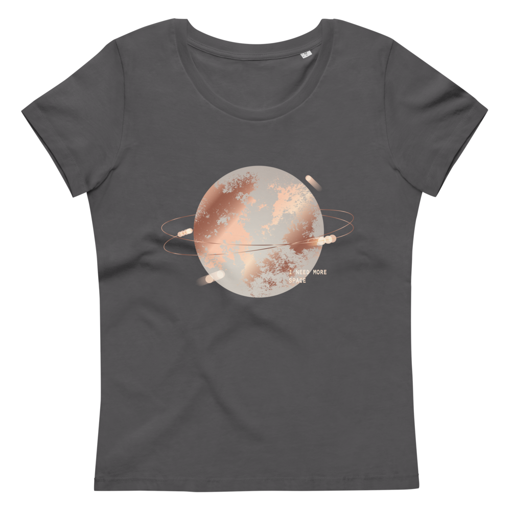 Women's fitted eco tee Space