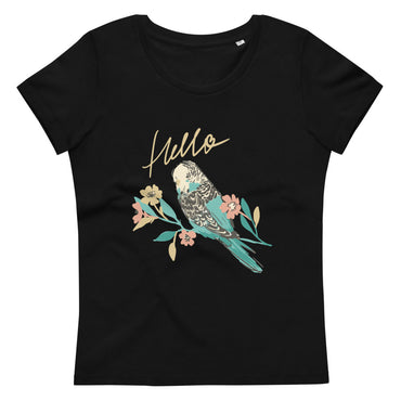 Women's fitted eco tee Hello