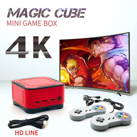 Mini Retro Game Console Arcade PS1 FC Gaming Console 4K HD Video Game