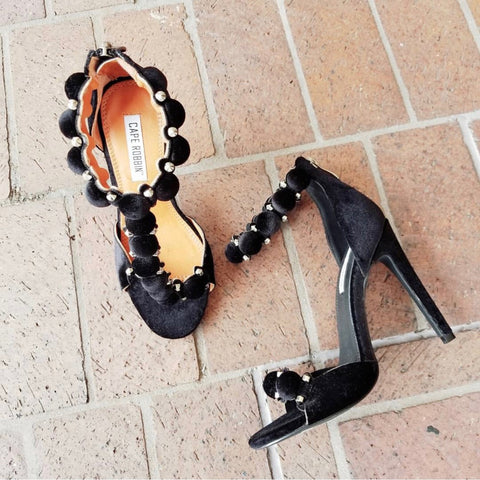 Cape Robbin studded sandals
