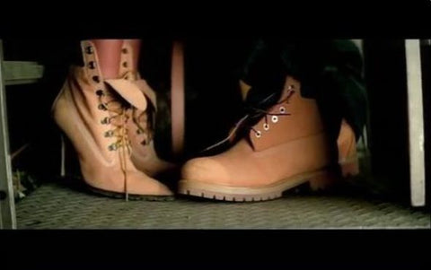 Jay Z and Beyoncé 03 Bonnie and Clyde timberland boots jimmy Choo Electric 87 Boutique