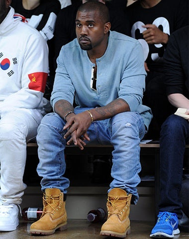 Kanye West Timberland Jimmy Choo electric 87 boutique court side