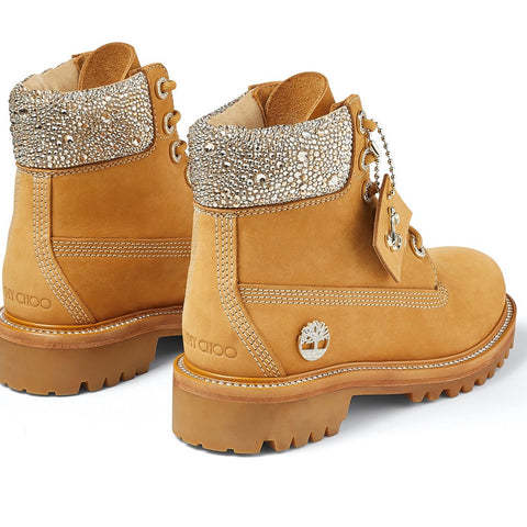 Jimmy Choo timberland Electric 87 classic 6 inch wheat boots