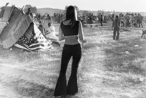 Woodstock fashion bell bottoms