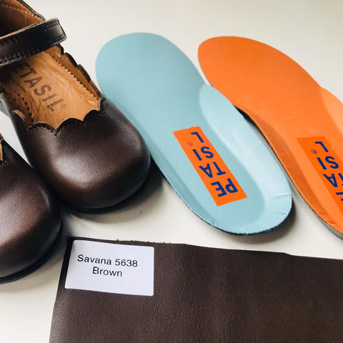 Petasil Back To School Shoes available in different colour of Chrome-free leather