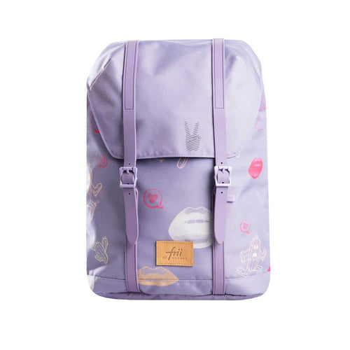 Frii School Backpack 30L - Purple - Mr. Poco