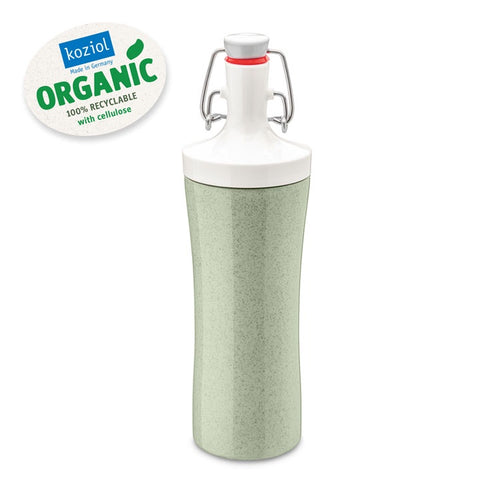 Koziol Organic Water Bottle 425ML-Green - Mr. Poco
