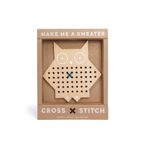 Cross Stitch Friends – Owl - Mr. Poco