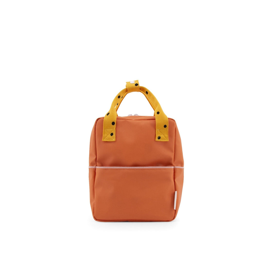 Small Backpack Freckles - Orange - Mr. Poco
