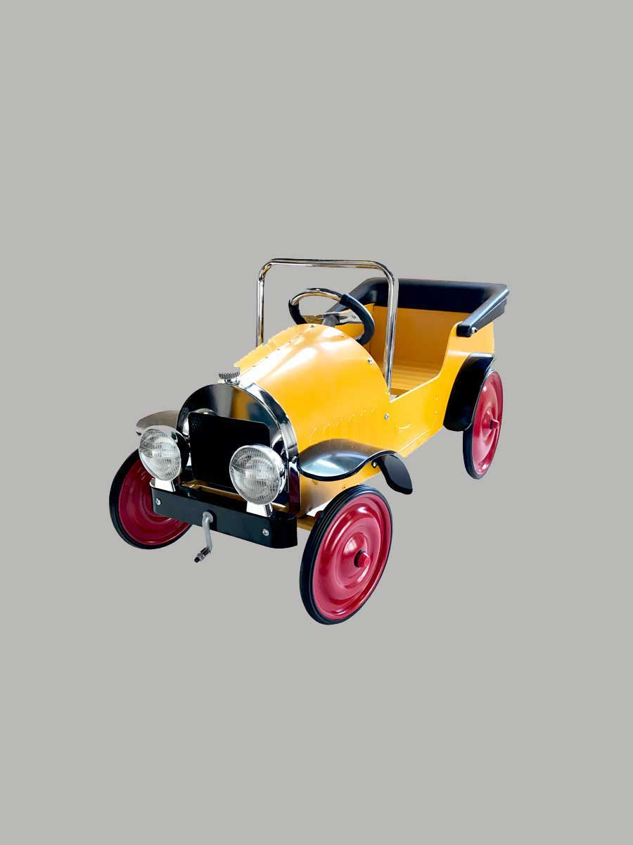 Classic Pedal Car Yellow - Mr. Poco