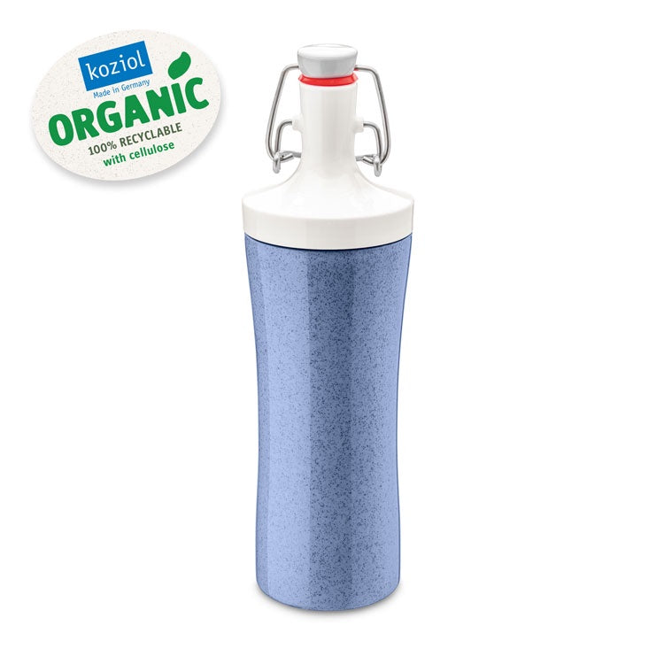 Koziol Organic Water Bottle 425ML - Blue - Mr. Poco