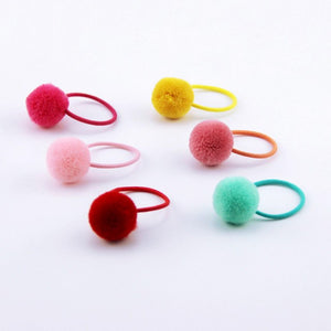 Pom Poms Hair Elastic - Mr. Poco