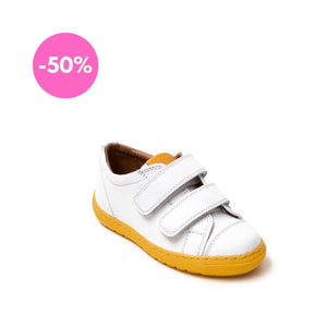 Petasil Nick 3 White / Yellow Leather - Mr. Poco