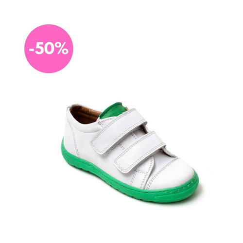 Petasil Nick 3 White / Mint Leather - Mr. Poco
