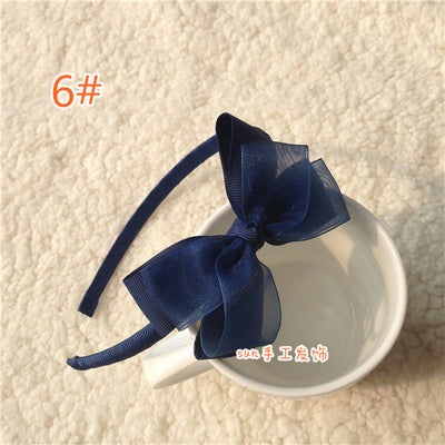 Grosgrain Bow 8mm Headband - Mr. Poco