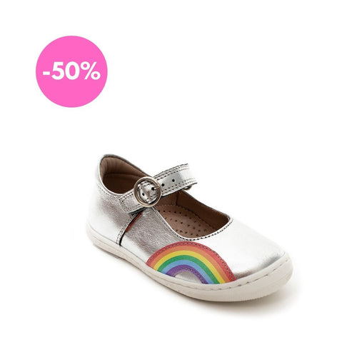 Petasil Rainbow Silver Leather - Mr. Poco