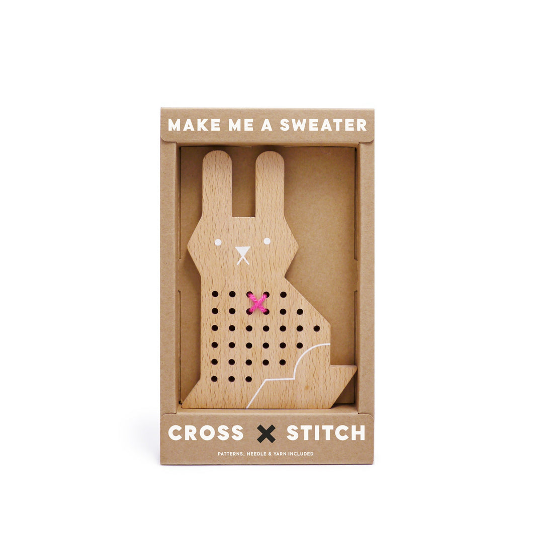 Cross Stitch Friends – Rabbit - Mr. Poco