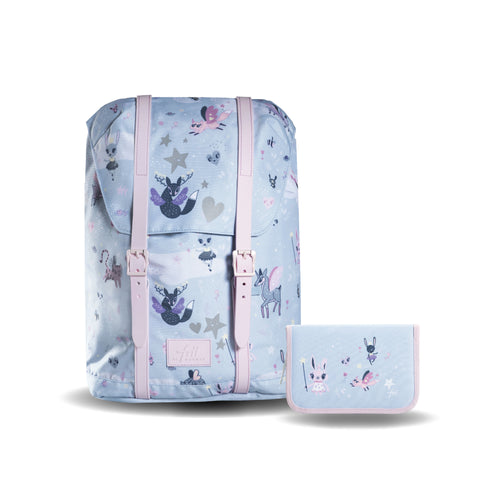 Frii School Backpack 22L Combo Set - Fantasy Animals - Mr. Poco - Hong Kong