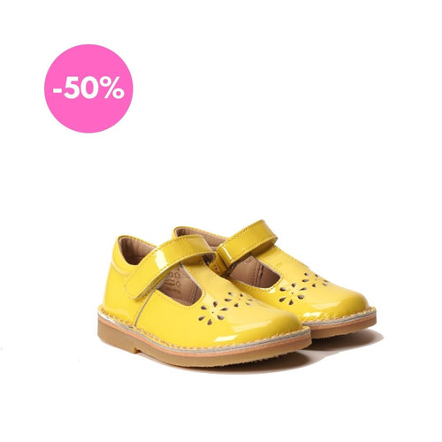 Petasil Cecily Patent Yellow - Mr. Poco