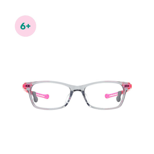 Blue  Light Protection Glasses - Grey/Pink - Mr. Poco