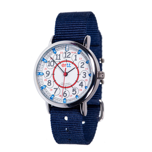 EasyRead Watches (12/24hr) - Red & Blue - Mr. Poco