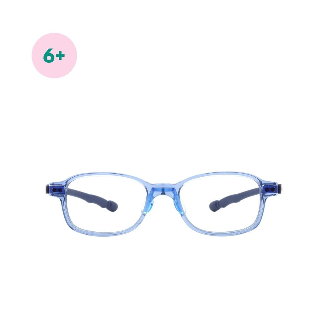 Blue Light Protection Glasses - Steel Blue - Mr. Poco - Hong Kong